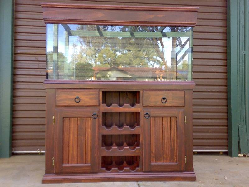 1000 images about aquarium furniture on pinterest for Fish tank cabinets